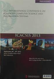ICISBC 2013 (The 2nd International Conference on Information System For Businnes Competitiveness 2013). Tema Tentang : Information System to Achieve Global Business