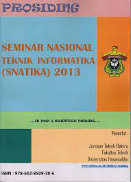 Seminar Nasional Teknik Informatika ( SNATIKA) 2013 Tema Tentang : Soft Computing, Articial Intelligence,Multimedia Technology,Software Engineering,Visualization and Grapich Computer :